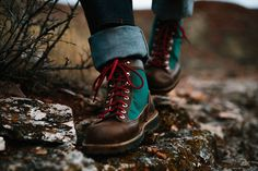 (paid link) For everyday wear, style your hiking boots as you would any other boot. · If you don't like leggings or skinny jeans, try boyfriend jeans rolled at the hem or wide-leg .... *You have better ideas? Left a comment to us. Best Hiking Shoes, Hiking Boots, Hiking Sneakers, Hiking Gear, Men's Accessories, Boots 2016, Danner Boots, Latest Shoe Trends, Casual Loafers