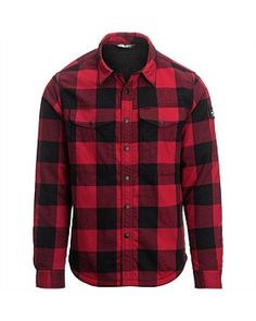 The North Face. Proven, loved and trusted brand for all your outdoor adventures. , The North Face Campground Sherpa Shirt - Men's North Face Jacket, The North Face, Button Down Shirt, Men Casual, Plaid, Hoodies, Shorts, Mens Tops, Stuff To Buy