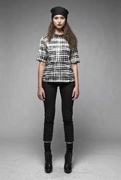 Taylor 'Follow the line' collection, Winter 2013 www.taylorboutique.co.nz Taylor Boutique - Ratio Top - Print