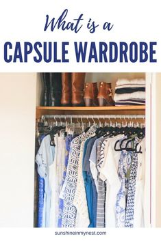 What is a Capsule Wardrobe? How do I make a capsule wardrobe? This series and printable will give you all the information you need to decide if a capsule wardrobe is best for you, and how to create one.