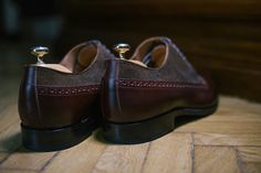 Goodyearwelted Derbys by Artizan #morethanasuit @artizanimage