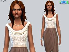 Sims  Addictions: Sims 4 Strictly Business Outfit