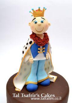Prince/King cake by Tal Tsafrir.