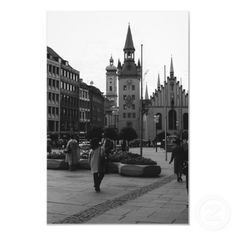 #Buy #purchase #digital #photography #photograph #photo #picture #image #print #1970s #1970 #download #file #antique #old #vintage #archive #historic #historical #hight #resolution #bw #black #white #stock #collection #licence #royalty #free #RF Europe Germany Munich Church Marienplatz $9.95