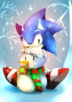 Do you want to build a Snowhog? by Baitong9194 on deviantART - Sonic the Hedgehog