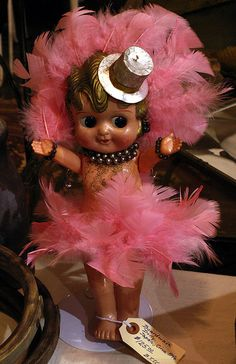 carnival doll  #gold