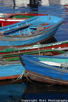 fishing boats, Spain