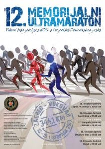 12th Memorial Ultramarathon Zagreb - Vukovar 2013