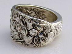 #spoon ring #silver #narcissus