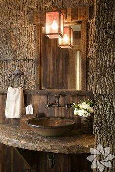 Rustik banyolar
