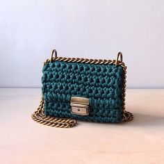 @sevirikamania crochet bag. Chanel style. T-shirt yarn, 100% cotton, recycled yarn