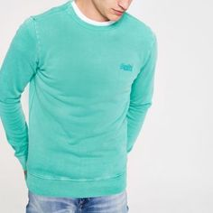 MEN`S NEW RIVER ISLAND Crew Neck Jumper Size M //L AVAILABLE New With Tag