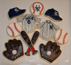 New York Yankee Cookies