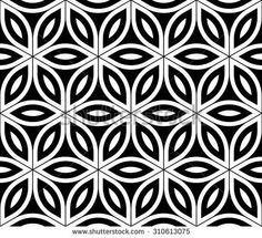 textile design black white - Cerca con Google