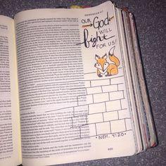 Bible journaling - My work - Cassi B (bright_forest) Journal Inspiration, Journal Ideas, Praise Hands, Bible Doodling, Bible Illustrations, Bible Study Journal, Illustrated Faith, New Journey, Bible Art