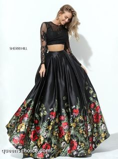 Sherri Hill Prom and Homecoming Dresses Sherri Hill 50599 Sherri Hill One Enchanted Evening - Designer Bridal, Pageant, Prom, Evening & Homecoming Gowns