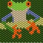 2015 Bead It Forward Free Pattern Frog