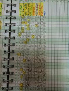 keeping an organized gradebook teaching children pinterest