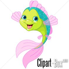 CLIPART HAPPY FISH