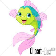 CLIPART HAPPY FISH