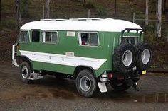 4 x 4 Bus camper