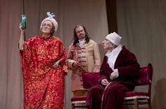 « Le Malade imaginaire » (2009)  Dans le répertoire du théâtre une place importante revient à la dramaturgie de MOLIÈRE. Au cours de nombreuses années, plusieurs de ses pièces, telles que « L'Impromptu de Versailles », « Les fourberies de Scapin », « Le Médecin malgré lui », « Le Misanthrope », « L'Avare », « Les Femmes savantes », « Dom Juan », « Le Tartuffe et Le Malade imaginaire », y ont été mises en scène.