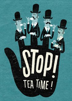 Stop! Tea Time! by Esther Aarts