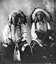 Red Cloud andAmericanHorse,DakotaChiefs,1897 or 1898 Barry, D. F. (David Frances)