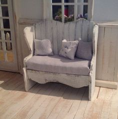 Rustic bench seat 112 by MyOwnRoom on Etsy, $39.00