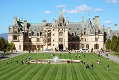 Spectacular! The majestic Biltmore Estate in Asheville, NC