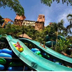 Fullday  Sunway Lagoon (Include 6 Park E- Tickets):Adult $28/Child $25 Package…