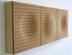 Cork decorative acoustical panels ONDA by Daniel Michalik Furniture Design