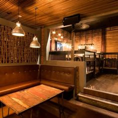 The Duke Saloon in Victoria, Canada - If you're into good lookin' staff, smooth tastin' whisky, and foot stompin' live tunes, then this country themed bar is a must see. No detail was spared in the construction of this new hit spot, with rustic bespoke details in every nook and cranny.