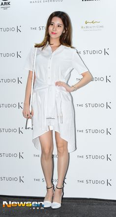 SNSD's SeoHyun shines in her all white outfit at The Studio K's event ~ Wonderful Generation