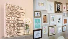 #diy #decoracion #tips Cuadros baratos y fáciles de hacer