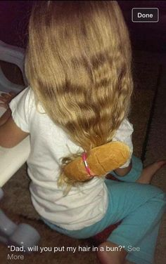 Need a good laugh? Check out this creative bun!