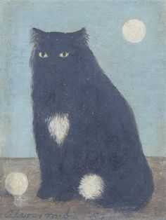 Gertrude Abercrombie - Black Cat, 1957