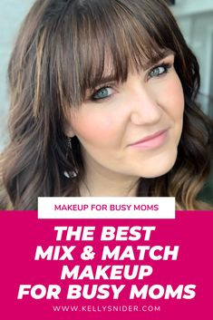 This is the best mix and match makeup for busy moms! If you are on the hunt for . This is the best mix and match. Quick Makeup, Best Makeup Tips, Best Makeup Products, Makeup Ideas, Makeup Tutorials, Maskcara Makeup, Maskcara Beauty, Blush Makeup, Beauty Makeup