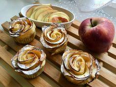 Vianočné jablkové ruže - Recept