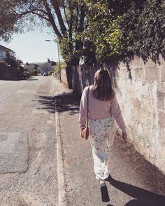 Walk in the sun 🌸