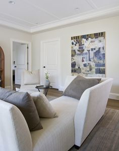 Reading Room - contemporary - living room - dc metro - Studio Santalla, Inc