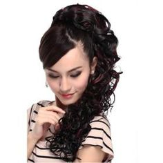 Extra Long High Quality Synthetic Silk Straight Ponytail-Four colors *free ship