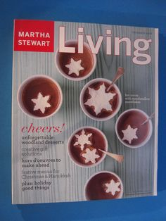 Magazine Martha Stewart Living December 2003