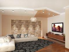 Ideal Spanndecken im Wohnzimmer