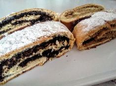 Kváskové záviny - recept - My site Challa Bread, Strudel, Good Food, Food And Drink, Sweets, Baking, Breakfast, Cake, Ethnic Recipes
