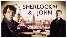 Sherlock and John postcard by ~AnnaCarrota on deviantART