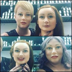 When it's Saturday and you realize your can face swap with the head block mannequin lol #headblock #faceswap #ohgod