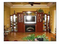 Media Center By Closet Tec Of Sarasota, FL.