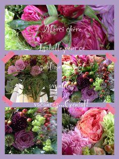 Fleurs de juillet 2013- A la folie.Isabelle Thissen Fleuriste-Artiste.