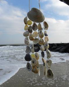 Seashell Windchime Beach Chime Sea Shell by somethingfromthesea